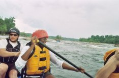 Rafting on the James River, Richmond, VA
