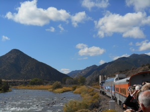 Train ride down the Arkansas River